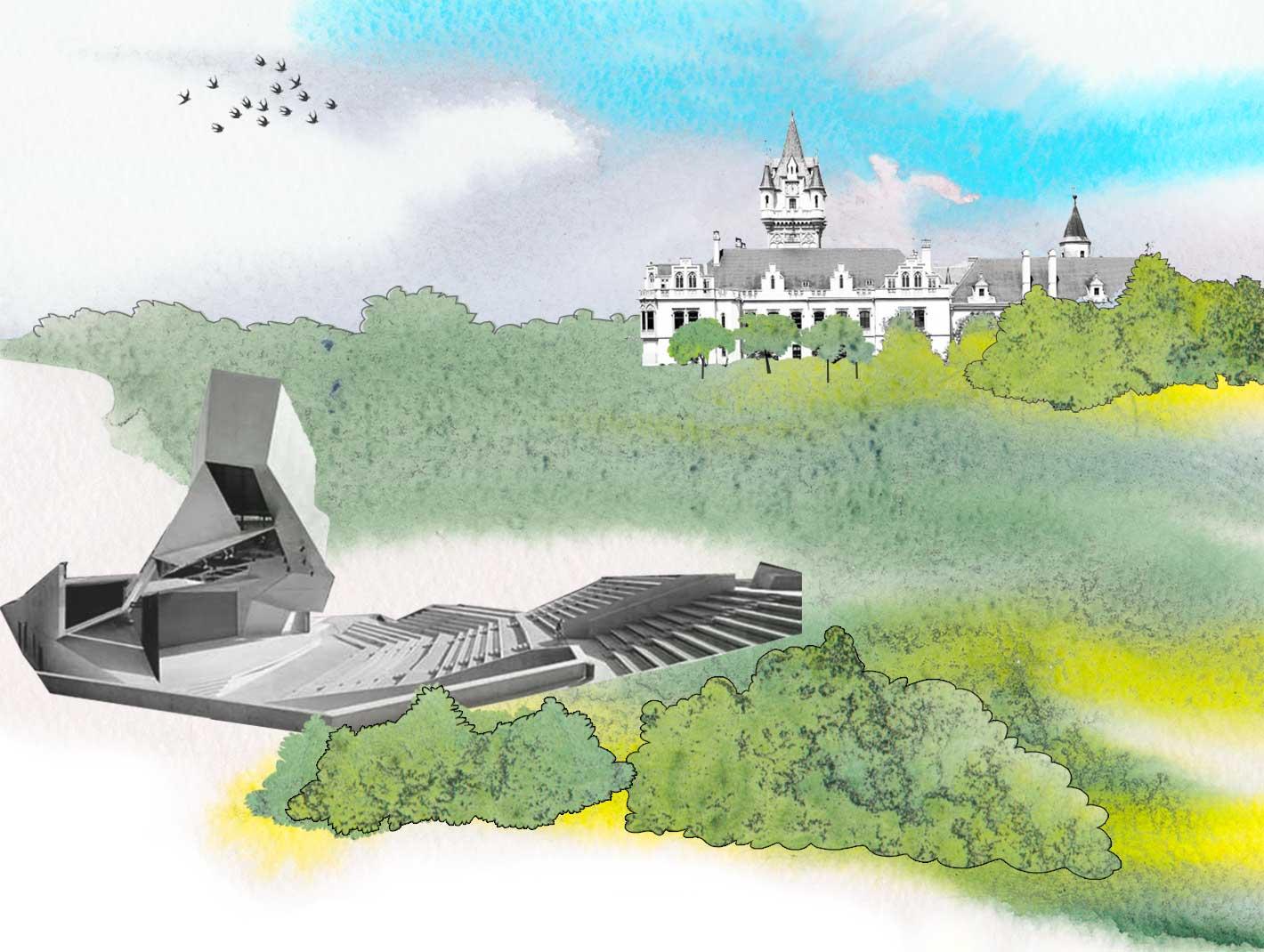 Illustration Castle Grafenegg
